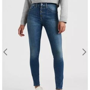 Lucky brand Highrise Bridgette skinny jeans